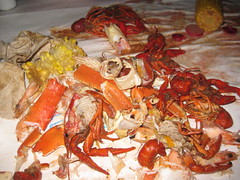 seafood boil, lobster, crustacean, fish, seafood, invertebrate, food, dish,