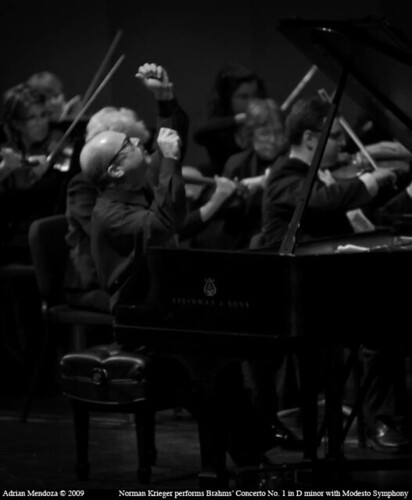 """Norman Krieger"" ""Modesto Symphony Orchestra"" Brahms ""Concerto No. 1 in D minor"" ""Gallo Center for the Arts"" by amenfoto"