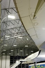 Concorde Alpha Charlie at Manchester Eco Hangar 11