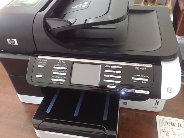 hp officejet pro 8500 wireless manual