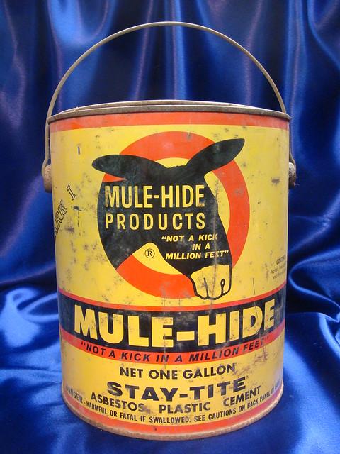 Quot Mulehide Quot Asbestos Plastic Cement Flickr Photo Sharing
