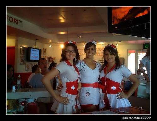 Heart Attack Grill Naughty Nurses - Chandler, Arizona