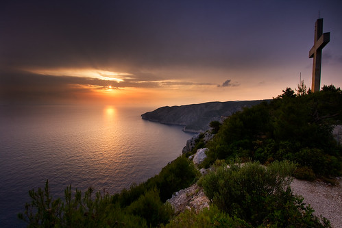 Sunset at Kampi, Zakynthos