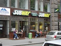 Budapest: Subway Váci utca