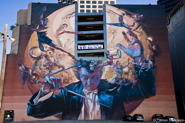 The Mind of an Artist, Symphonic Mural in Dallas