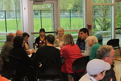 World Cafe format inspires discussion