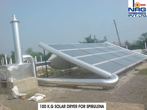 100 K.G SOLAR DRYER FOR SPIRULENA.. by NRG2004