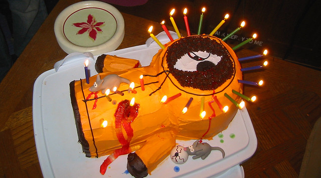 Birthday Cake Clint