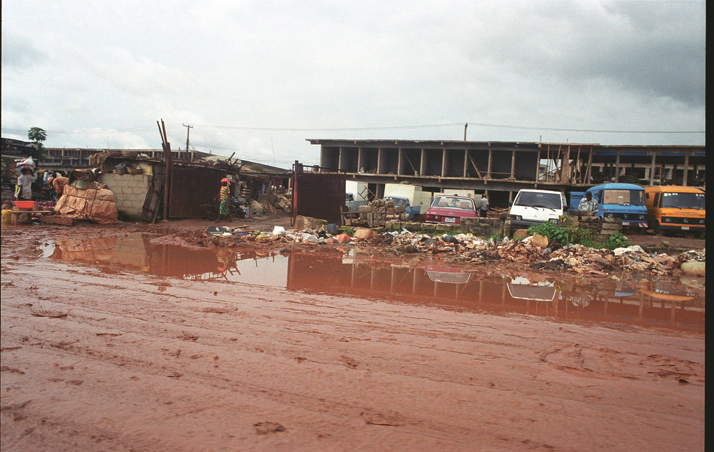 Onitsha Anambra State South Eastern Nigeria Africa's Biggest Market Oct 27 2002 926 near Neni