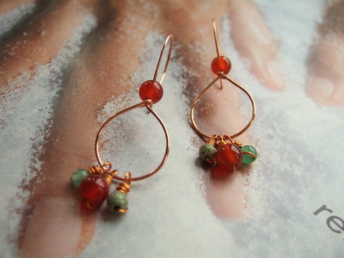 Dancing beads Earrings