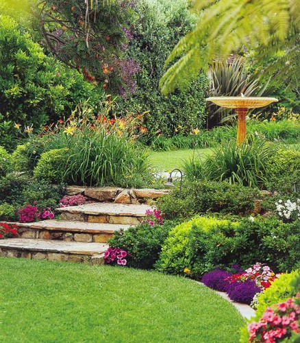 Landscaping yard flickr photo sharing for Great backyard landscaping ideas