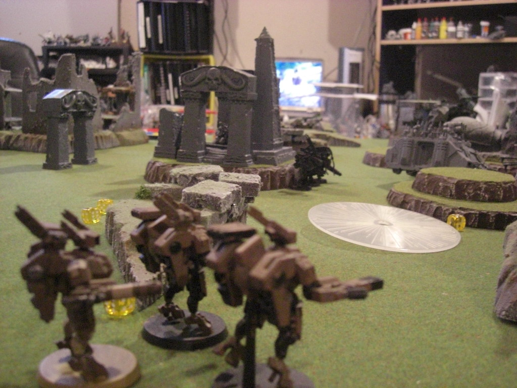 The obliterators come under fire from crisis suits