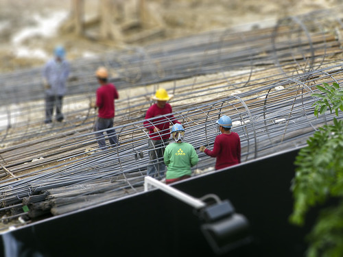Worker Tilt-Shift I