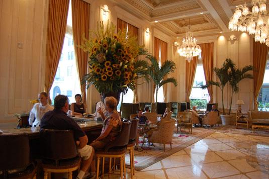 New Plaza Hotel lobby