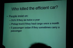 Who Killed the Efficient Car?