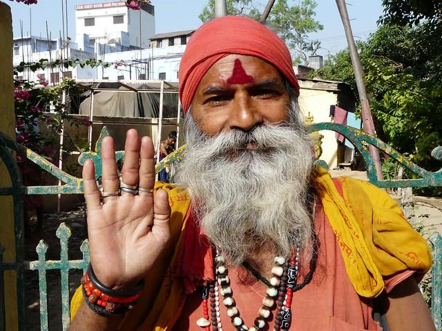 Sadhu de Benarés (India)
