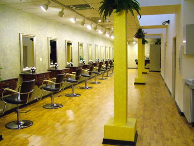 Beauty salon interior design simple hair salon design for Decoration salon simple