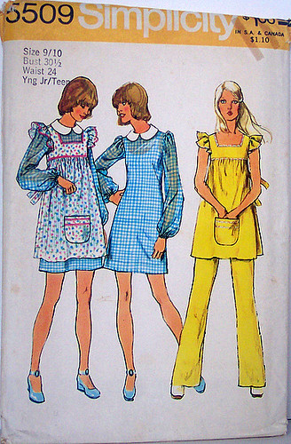 1974 Sew Simple Child's Smock - Simplicity.com: Patterns, tools