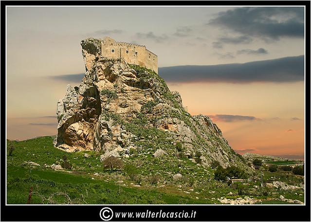 Castello di Mussomeli. Il Castello Manfredonico Chiaramontiano