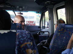 Typical view on board a sherut in Israel by Baha'i Views / Flitzy Phoebie, on Flickr