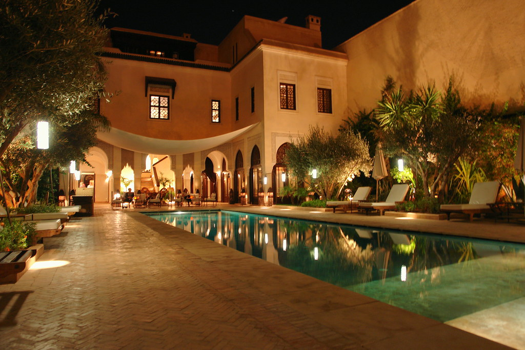 Villa des orangers marrakech had an excellet dinner for Villa des jardins marrakech