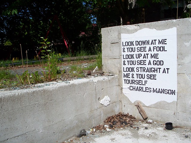 charles manson quote