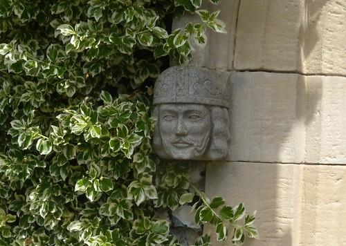 Head, St Margarets Church, Rottingdean