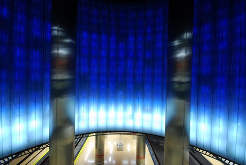 Chamartin Metro Station Madrid