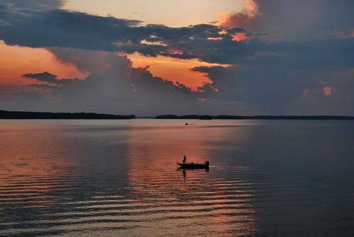 sunset usa lake sc america ga georgia us dam southcarolina nikond60 vicsf49 clarkshill jstromthurmond