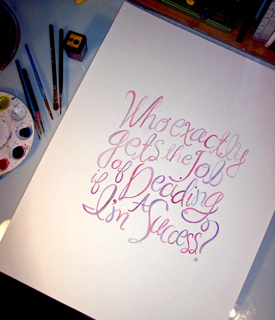 Success Watercolor