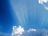 Cascading Light over Cumulus 1