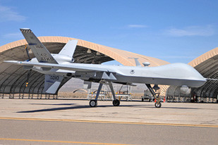 United States military drones used to attack civilian areas in Afghanistan and Pakistan as well as other countries in targeted assassinations. Most attacks result in the massacre of civilians. by Pan-African News Wire File Photos