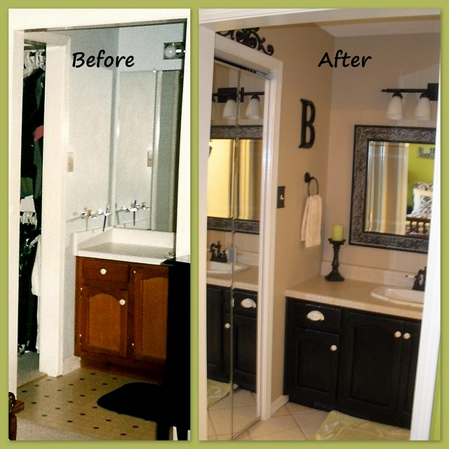 Bathroom renovation before after flickr photo sharing for Bathroom renovation before and after