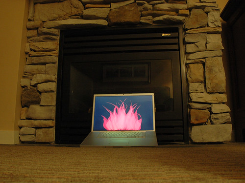 digital fireplace