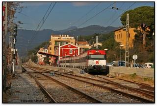 Estació de Renfe, la Garriga