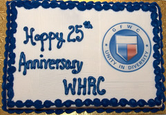 WHRC 25th Anniversary Reception