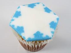 Fractal Snowflake Cupcakes - 24