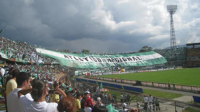 Nacionals massive banner