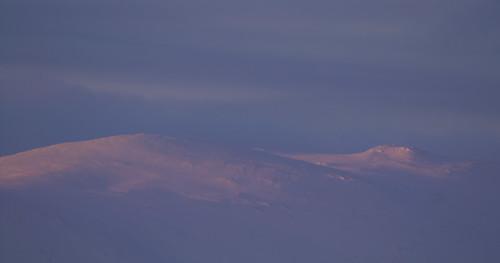 winter norway sunrise valdres