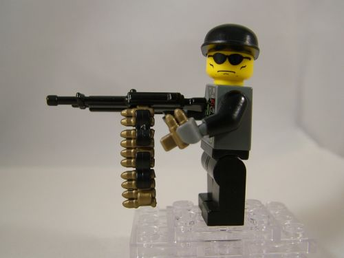BrickArms Buildable Ammo Chain Prototype 02