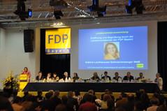 Auf dem FDP-Landesparteitag in Dingolfing