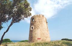 torre di Santa Margherita di Pula, sardegna