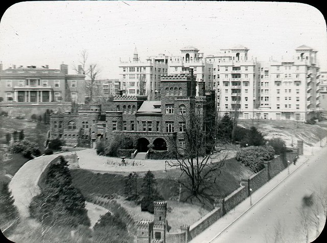 Henderson Castle, and a view up 16th St. NW