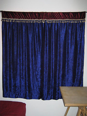 purple(0.0), window treatment(1.0), decor(1.0), textile(1.0), curtain(1.0), window covering(1.0), interior design(1.0), window valance(1.0), blue(1.0),