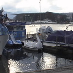 "Europe 2005: Tour boats on Vierwaldstattersee (""Lake of the Four Forest Cantons""), Luzern (Lucern), Switzerland"