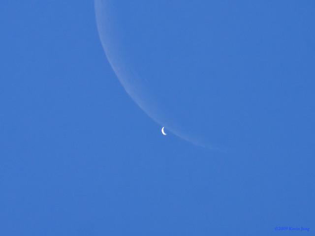 Moon Covers Venus