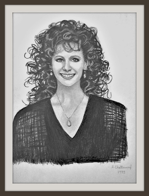 Reba McEntire - A Drawing by snc145 - Photo by snc145