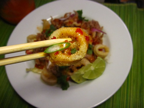 Crispy Thai Calamari Salad - Healthy? Kinda. Fresh ...