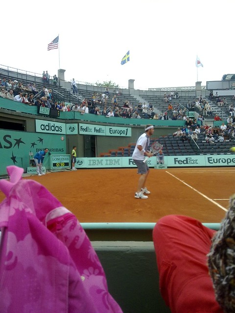Mardy Fish on Clay