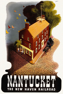 Vintage Travel Poster Nantucket